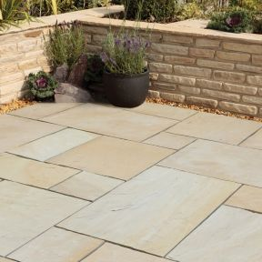 Natural Stone Pavers - Premia Collection - Sunset Buff