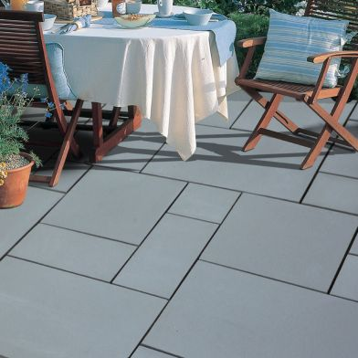 Natural Stone Pavers - Exotic Collection - Castle Grey
