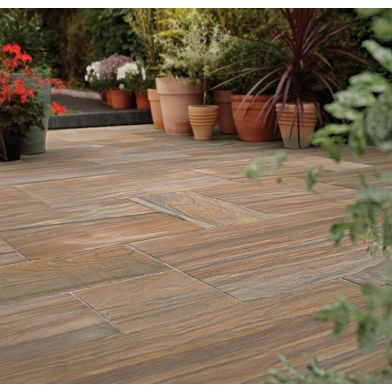 Natural Stone Pavers - Exotic Collection - Rainbow