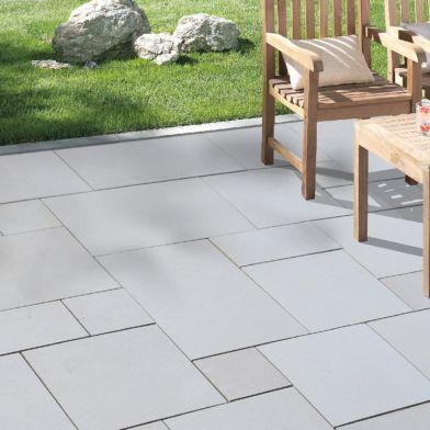 Natural Stone Pavers - Exotic Collection - Imperial White