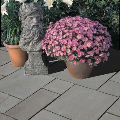 Natural Stone Pavers - Premia Collection - Autumn Brown