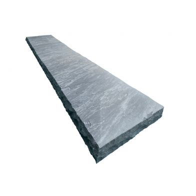Natural Stone Treads - Cloudy Black